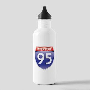 Interstate 95 Water Bottle