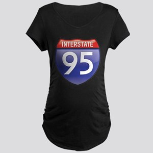 Interstate 95 Maternity T-Shirt