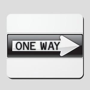 One Way Mousepad