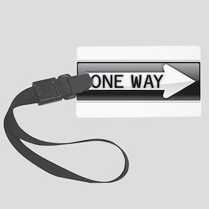 One Way Luggage Tag