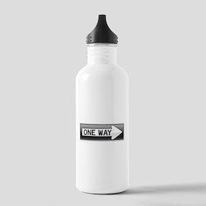 One Way Water Bottle