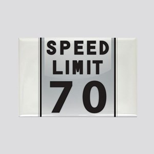 Speed Limit 70 Magnets