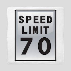 Speed Limit 70 Queen Duvet