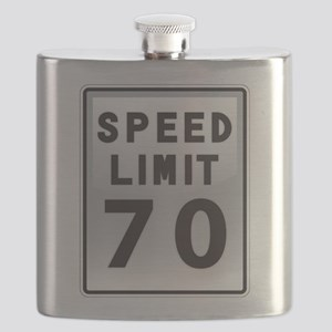 Speed Limit 70 Flask