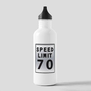 Speed Limit 70 Water Bottle