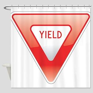 Yield Shower Curtain