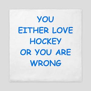 hockey Queen Duvet