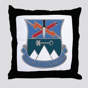 DUI - 2nd BCT - Special Troops Bn Throw Pillow