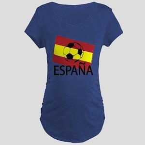 Italia Italy Football Soccer ball Maternity T-Shir
