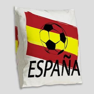 Italia Italy Football Soccer ball Burlap Throw Pil