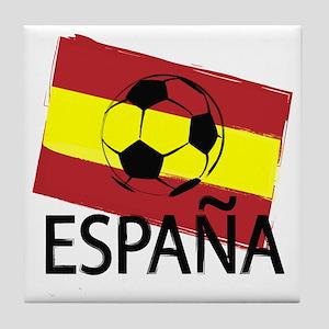 Italia Italy Football Soccer ball Tile Coaster