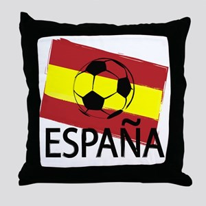 Italia Italy Football Soccer ball Throw Pillow