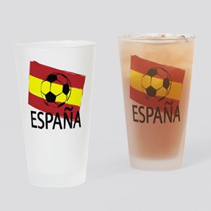 Italia Italy Football Soccer ball Drinking Glass