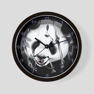 Panda Face Wall Clock