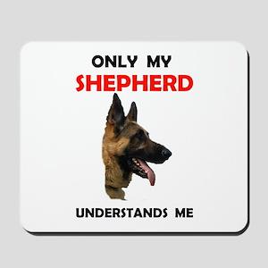 MY SHEPHERD Mousepad