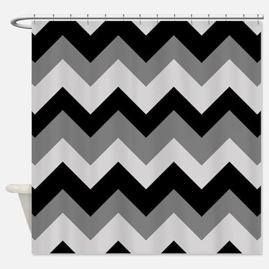 Chevron (Gray) Shower Curtain