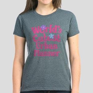 Worlds Cutest Urban Planner Women's Dark T-Shirt