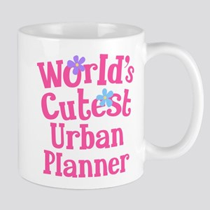Worlds Cutest Urban Planner Mug