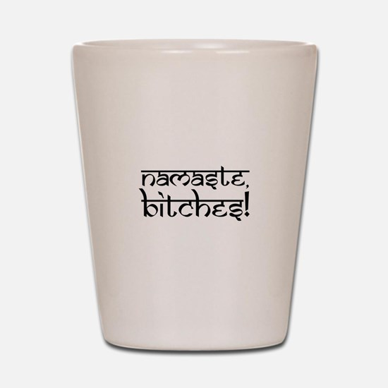 Ohm Indian Design Shot Glass