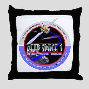 Deep Space 1 Throw Pillow