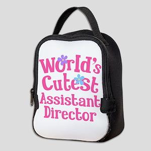 Worlds Cutest Assistant Director Neoprene Lunch Ba