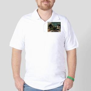 Saint George and the Dragon Golf Shirt