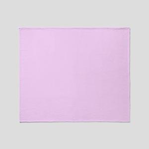 pale pink 2 Throw Blanket