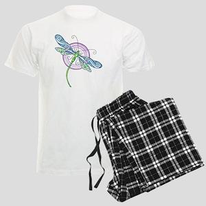 Whimsical Dragonfly Men's Light Pajamas