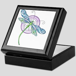 Whimsical Dragonfly Keepsake Box