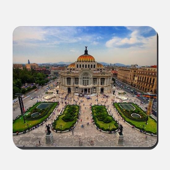 Palacio de Bellas Artes landscape Mousepad