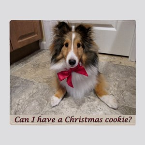 Can I have a cookie? Throw Blanket