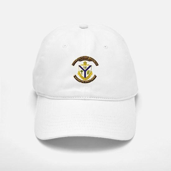 DUI - 132nd Infantry Regiment with Text Baseball Baseball Cap