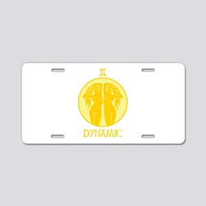 DYNAMIC Aluminum License Plate