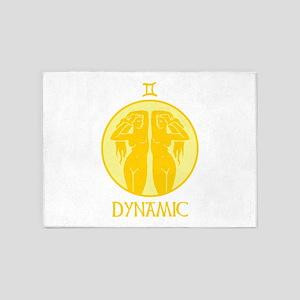 DYNAMIC 5'x7'Area Rug