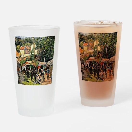 Pissarro - Festival at the Hermitag Drinking Glass