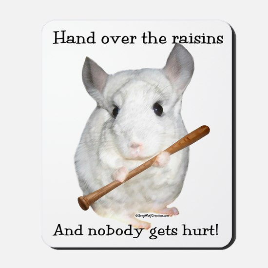 Chin Raisin2 Mousepad