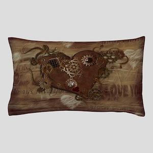 Steampunk Love Pillow Case