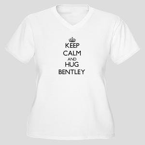 Keep calm and Hug Bentley Plus Size T-Shirt