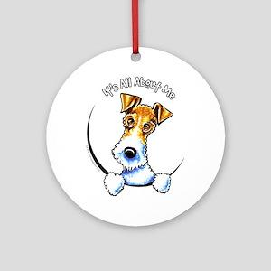 Wire Fox Terrier IAAM Ornament (Round)