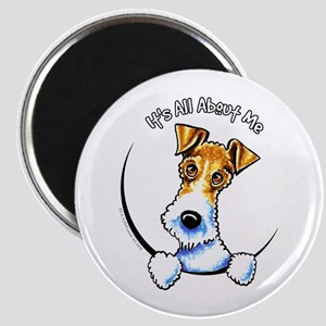 "Wire Fox Terrier IAAM 2.25"" Magnet"