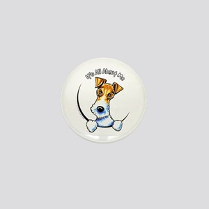 Wire Fox Terrier IAAM Mini Button