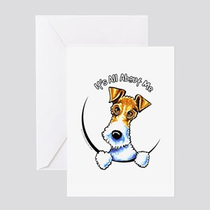 Wire Fox Terrier IAAM Greeting Card