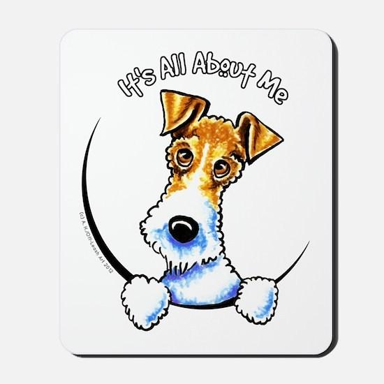 Wire Fox Terrier IAAM Mousepad