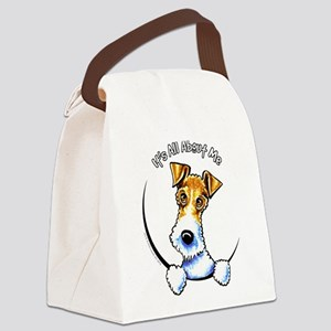 Wire Fox Terrier IAAM Canvas Lunch Bag