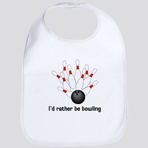 I'd Rather Be Bowling Bib