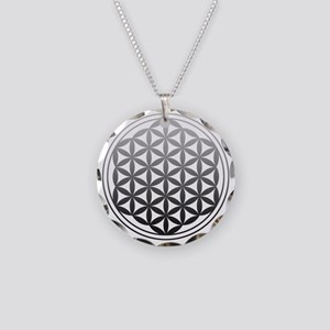flower of life2 Necklace Circle Charm