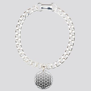 flower of life2 Charm Bracelet, One Charm