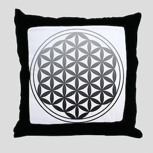 flower of life2 Throw Pillow