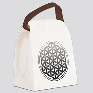 flower of life2 Canvas Lunch Bag