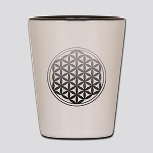 flower of life2 Shot Glass